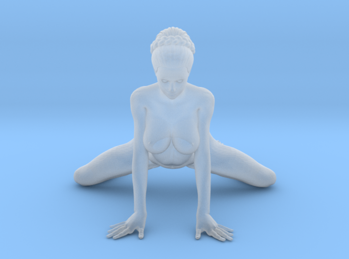 1:24 Strong Woman 003 3d printed