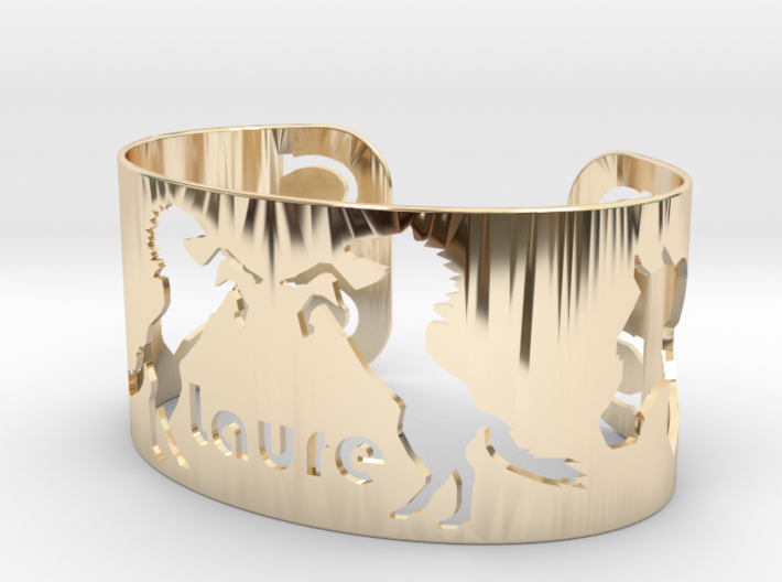 Bracelet Laure 34mm 3d printed