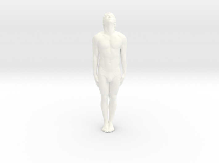 Male Dancer 007 scale 1/18 3d printed