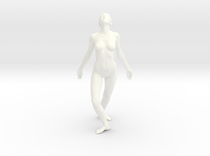 Female Dancer 003 scale in 1/18 3d printed