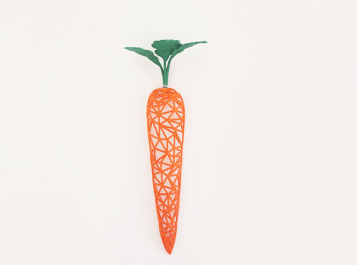 Wired Carrot 3d printed