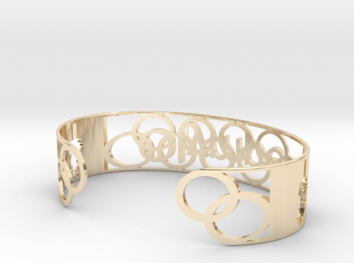 Bracelet Olympe 18mm 3d printed