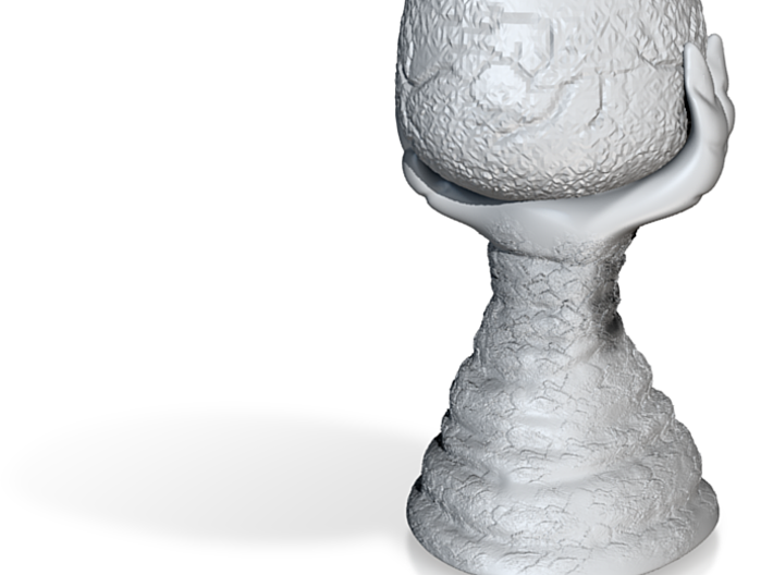 Claw Rock Cup 3d printed