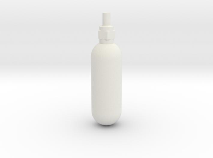Spitfire Emergency Blowdown Bottle 3d printed