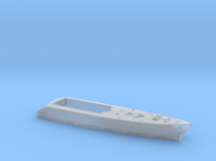 HMAS Vampire 1/350 Wl forward hull 3d printed