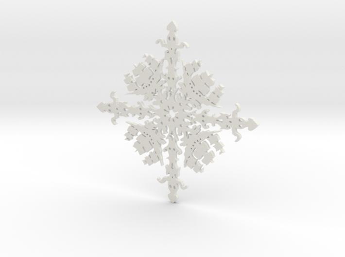 Shipflake #1 3d printed