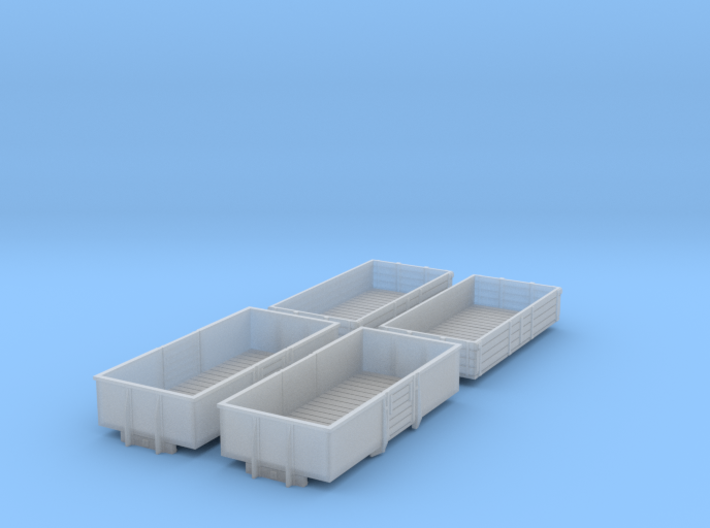 BR 1960s Open Wagons 3d printed