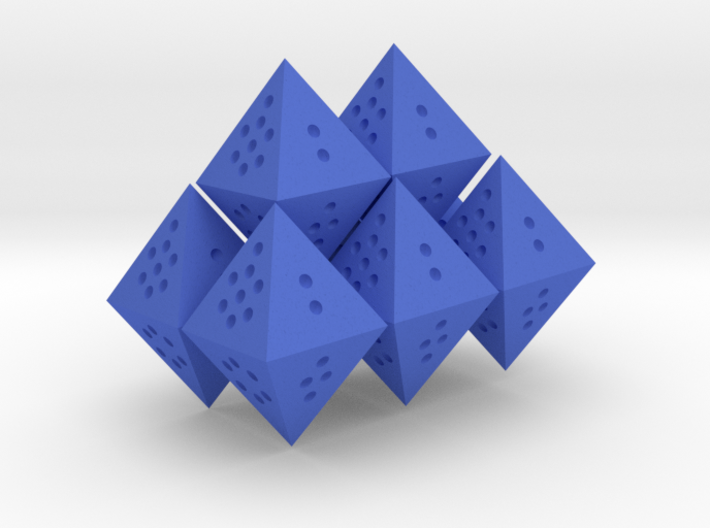 Flourite Octet (Full 8d8) 3d printed