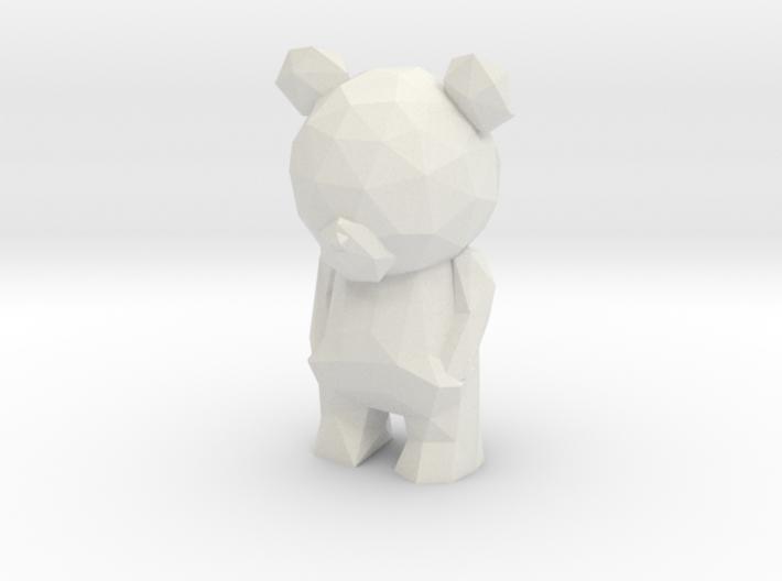 Thinking Teddy Bear  3d printed