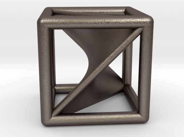 Segre embedding in a cube. 3d printed