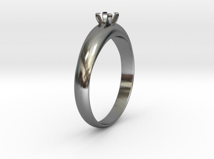 Ø19.70 mm Diamond Ring Ø3.7 Mm Diamond Fit 3d printed