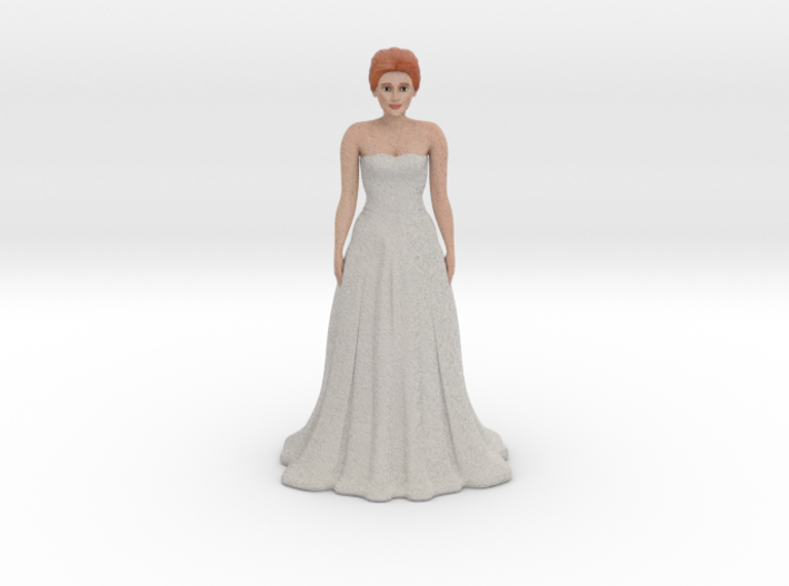 Redhead Bride (v.1) 3d printed