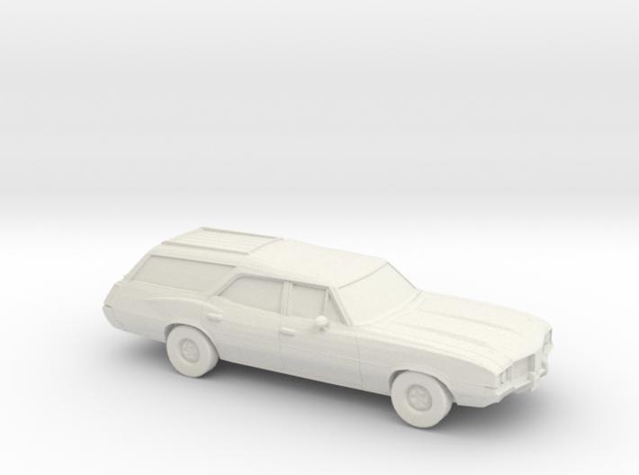 1/87 1968-72 Oldsmobile Vista Cruiser 3d printed