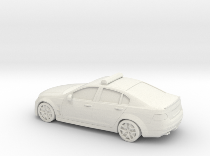 1/87 Holden Commodore Australian Police 3d printed