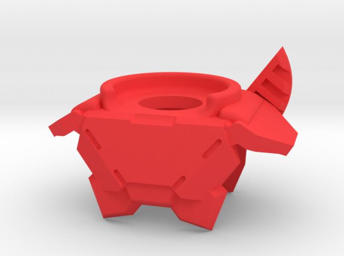 Titan Fin Armor 3d printed