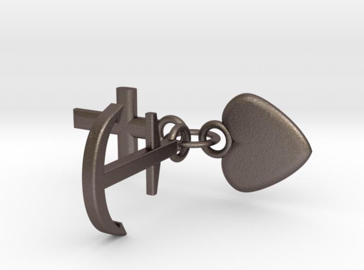 Schlüsselanhänger Glaube Liebe Hoffnung 3d printed