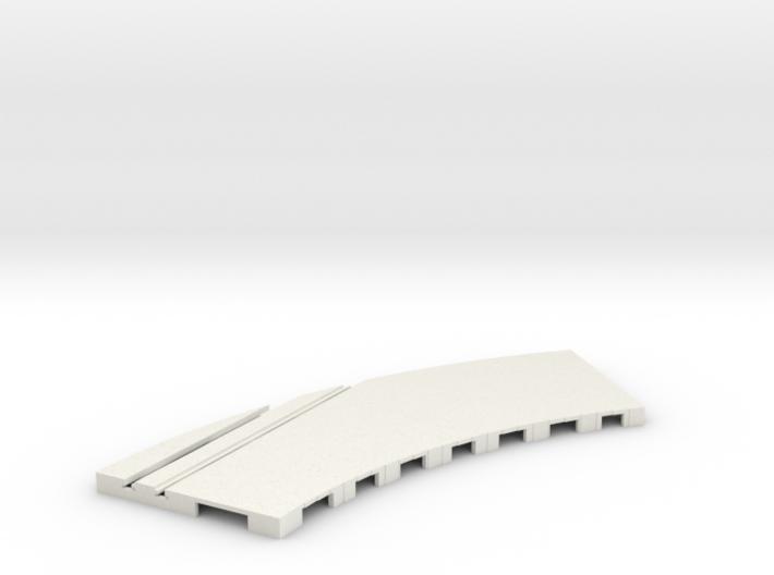 P-65stp-curve-rh-junction-outer-145r-75-pl-1a 3d printed