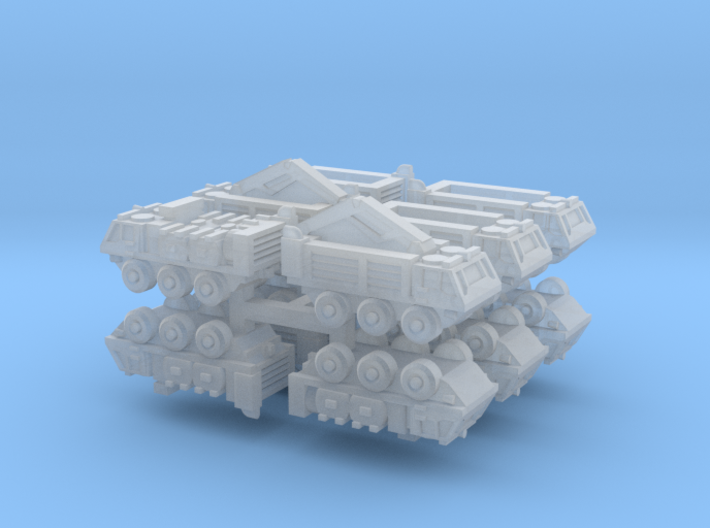 3mm FV620-Series Stalwart Trucks (12pcs) 3d printed