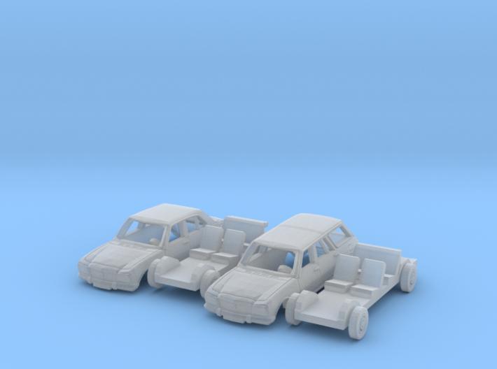 SET 2x Peugeot 504 (TT 1:120) 3d printed