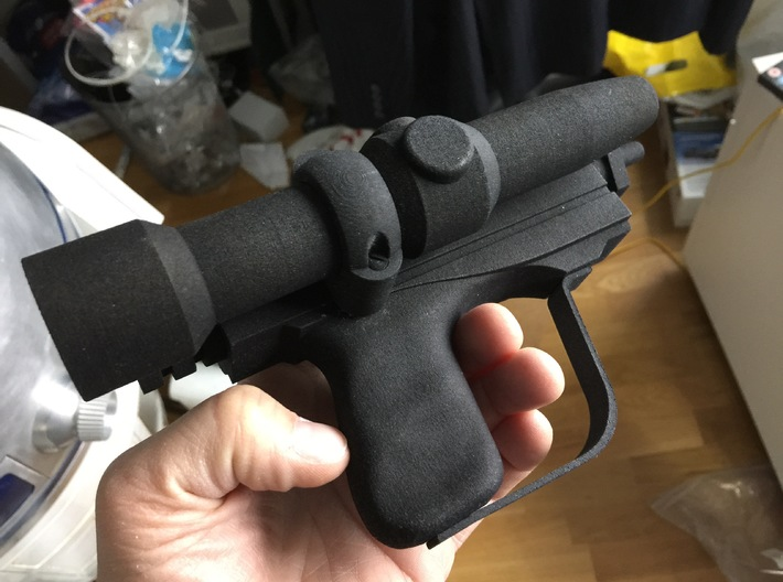 Biker Scout Toy Blaster Star Wars 3d printed
