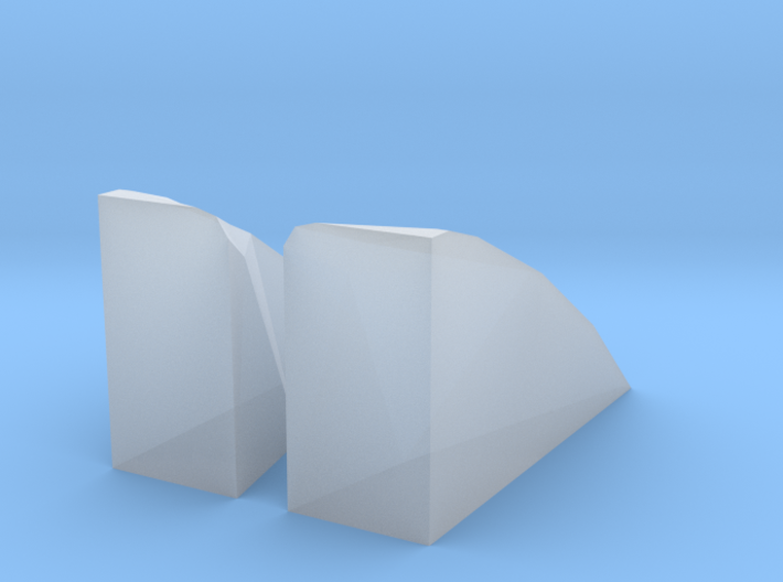 2004 to 2007 Panoz INDYCAR Tire Ramps for Greenlig 3d printed
