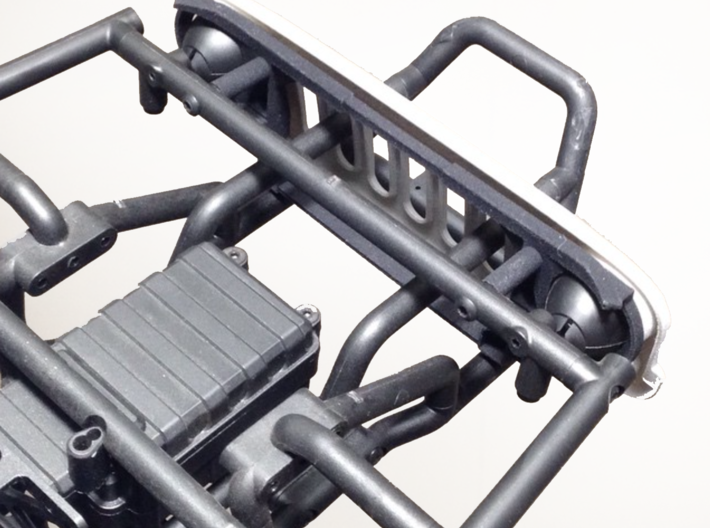 AW10001 Wraith ANGRY eye grill & mount 3d printed Grill assembly mounts directly to the Wraith cage with 2 screws (sold separately) and requires the roll cage to be drilled.