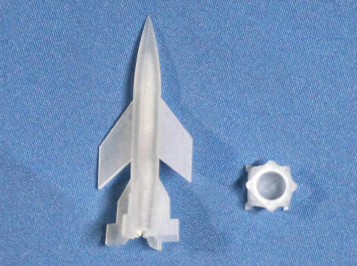 A-4b 1/350 scale with rotary launch table 3d printed