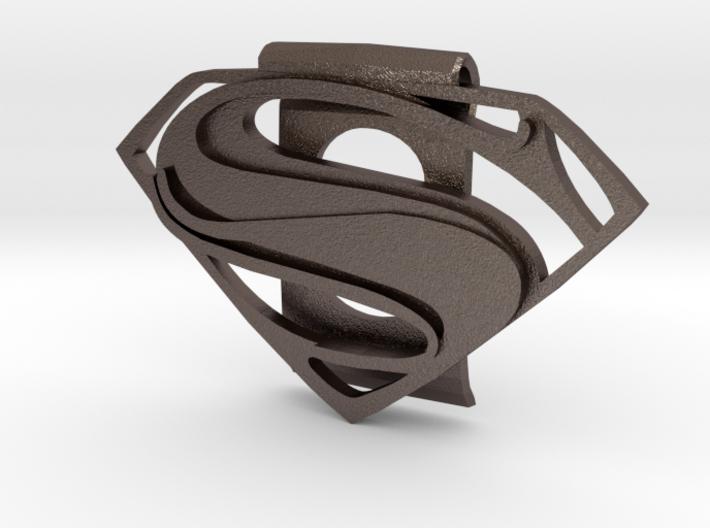 Superman Money Clip 3d printed