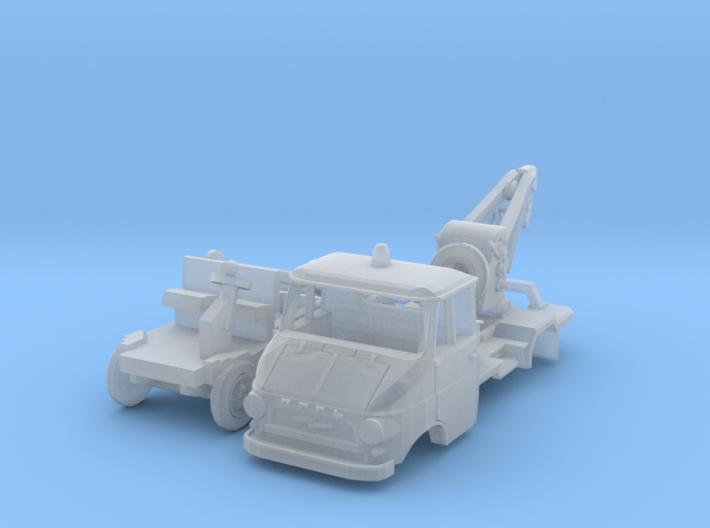 Opel Blitz A Abschlepper (TT 1:120) 3d printed