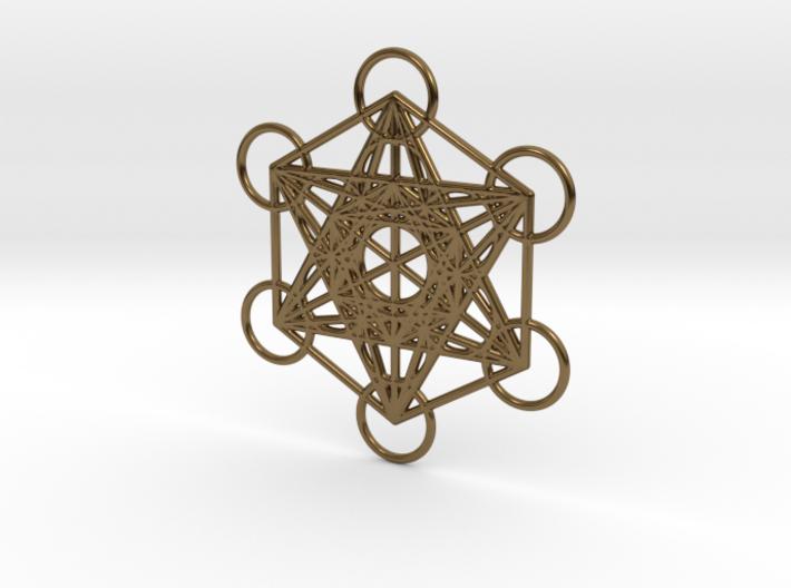 Metatrons cube custom 3d printed