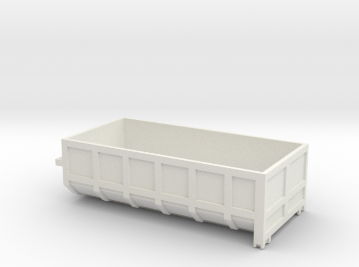 15cu m roll Container 1/50 scale 3d printed