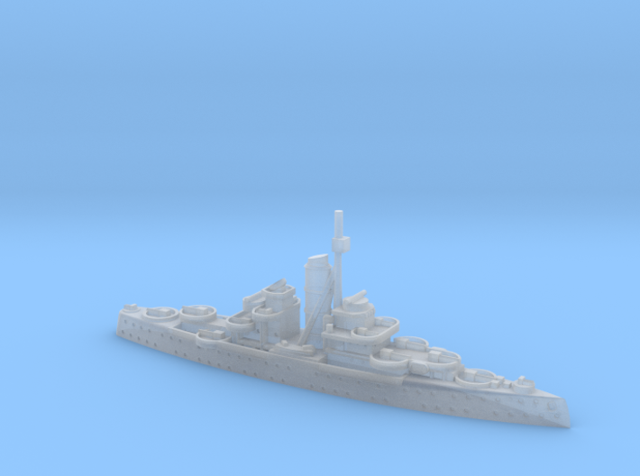 German Navy AA-Cruiser Niobe 1/2400 3d printed