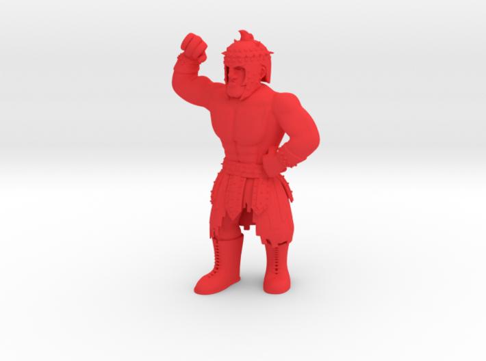 Mexican Wrestler #5: El Gladiator 3d printed