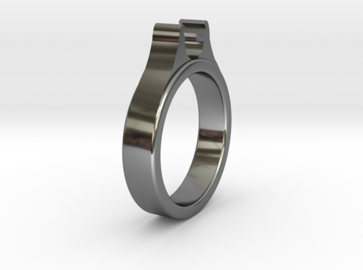 Ø20.20mm - Ø0.795inch Diamond Ring Cool Ø6.2mm Fit 3d printed