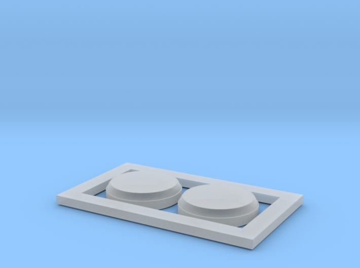 GWR Restaurant Coach Roof Vent 3d printed