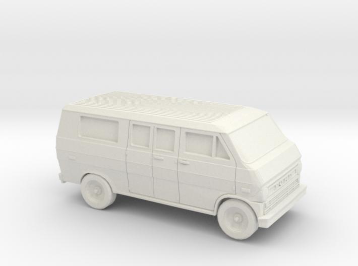 1/87 1972-74 Ford Econoline Club Wagon 3d printed