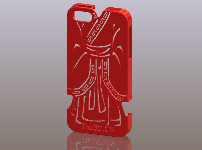 iPhone5_The Chinese Style -- Ancient costume 07 3d printed