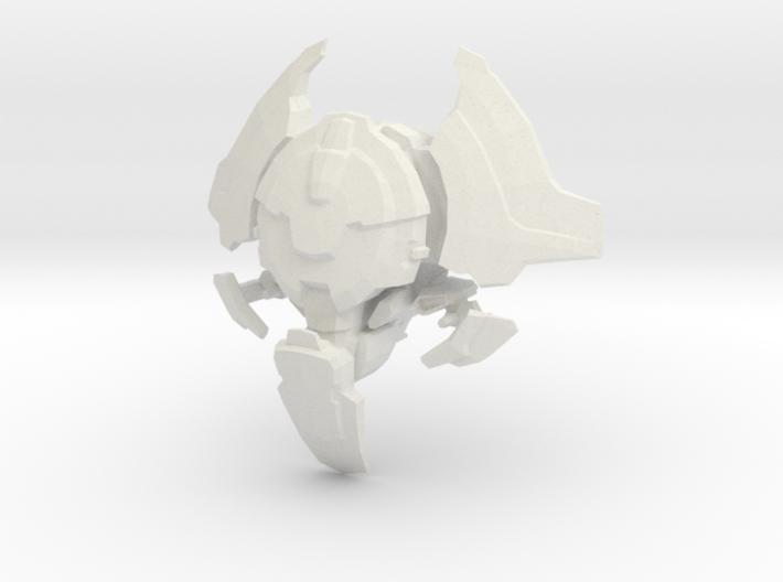 Legion - 001 Head - 04 Locust Analyzer 3d printed