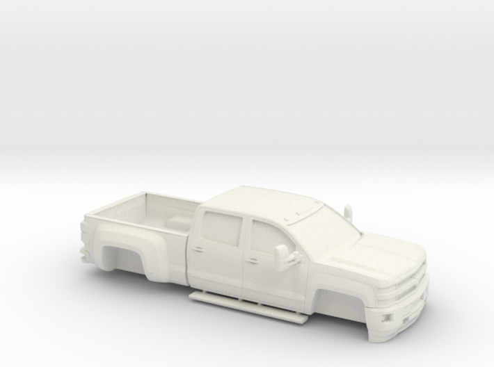 1/64 2015 Chevrolet Silverado Dually No Tires 3d printed