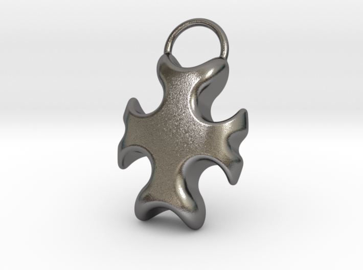 Cross Bottle Opener 3d printed