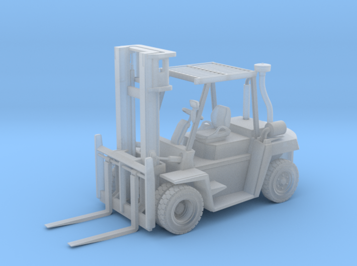 N Scale 1:160 CAT DP70 Forklift 3d printed
