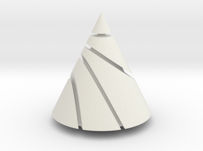 Conic Sections 3d printed