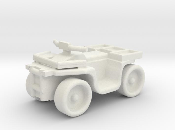 Quad ATV 1-87 HO Scale Style (Aggressive) 3d printed