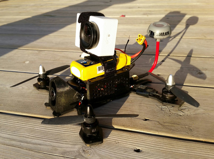 Gopro S-Mount (25 degrees) 3d printed