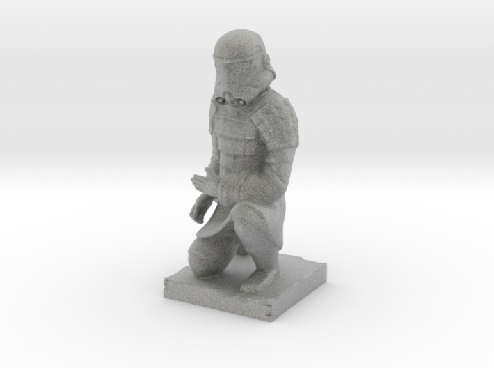 Terracotta Trooper 3d printed