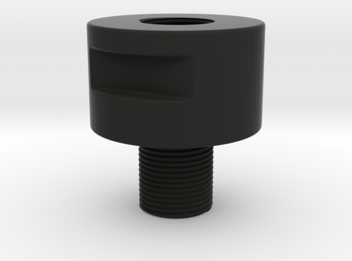Barrel Adapter Thread Male 14 mm CCW to Female 14m 3d printed