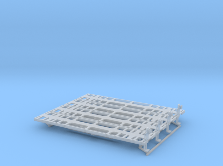 RCJF Steel Coil Wagon (set of 4) 3d printed