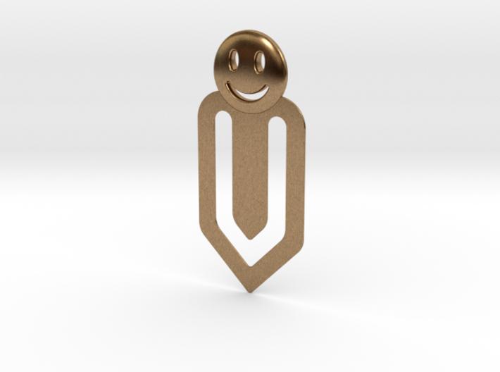 Happy Bookmark 3d printed