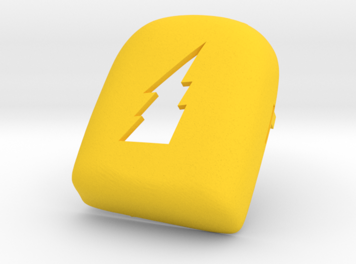 Lightning Bolt Omnipod Case 3d printed