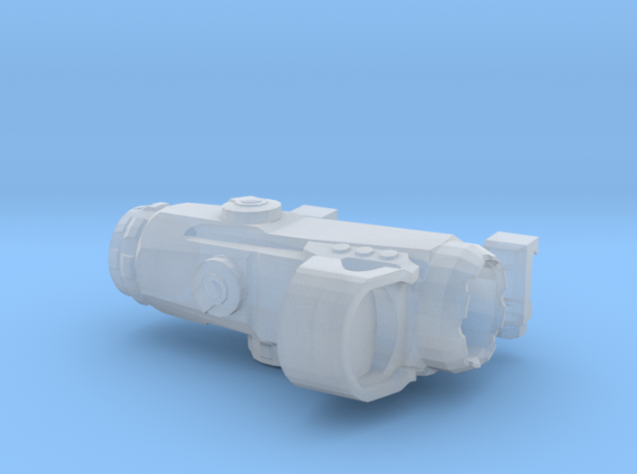 1:6 scale HAMR Scope with Lens 3d printed